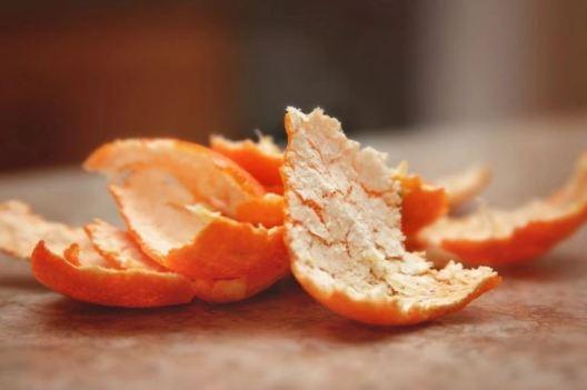Chest acne - orange peel