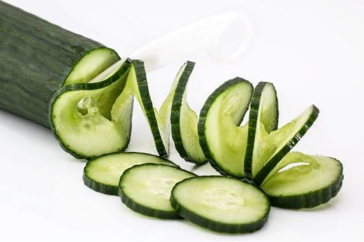 home remedies for acne scars - cucumber