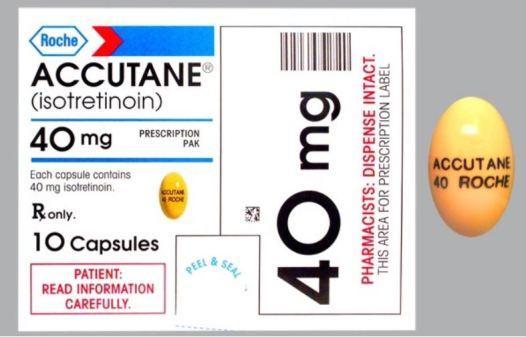 Pustular Acne - accutane