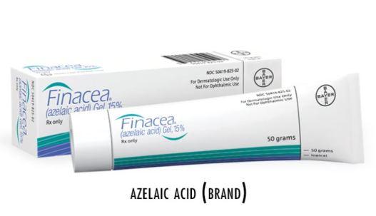 Pustular Acne - azelaic acid